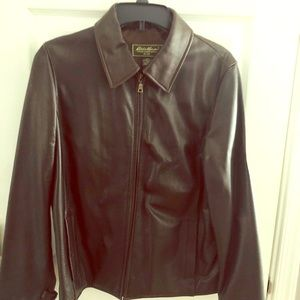 Chocolate Brown Leather Jacket